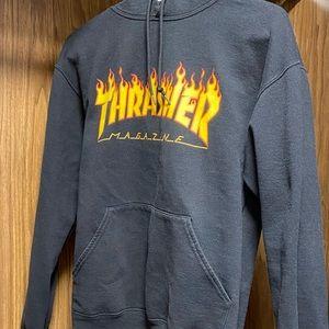 Black Thrasher Hoodie